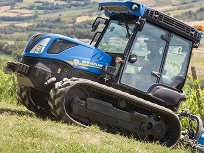 Tractores New Holland TK4