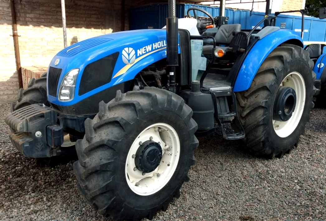 Tractores New Holland Tractor New Holland TD5 110