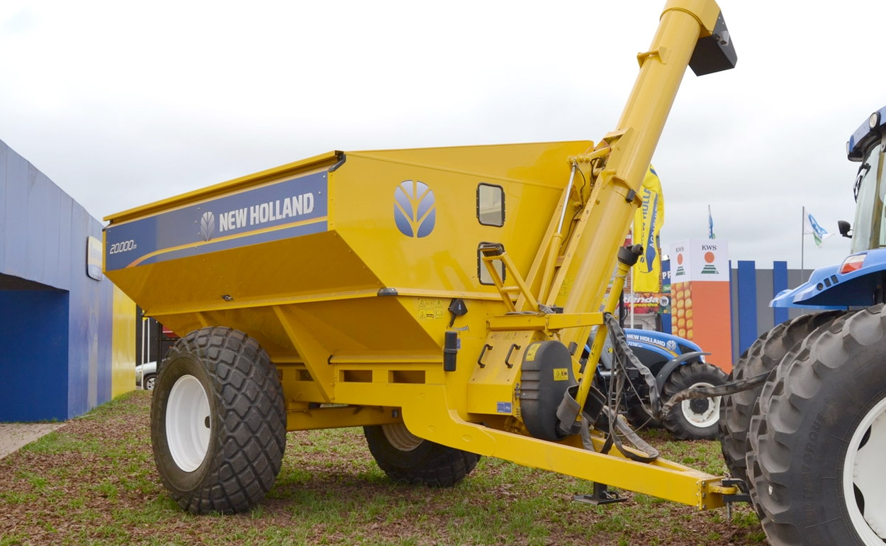 Tolvas New Holland AUTODESCARGABLES