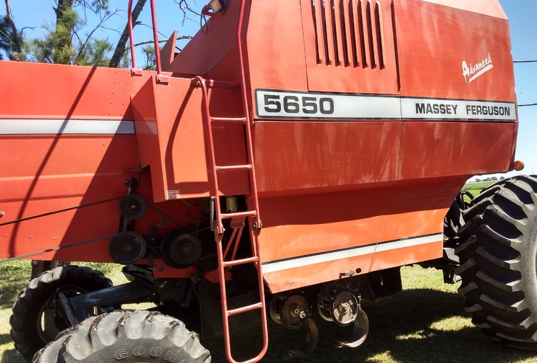 Cosechadora Massey Ferguson Advanced 5650